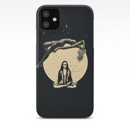 Luna's Meditation iPhone Case