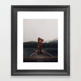 KAWS Framed Art Print
