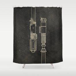 LightSabers Shower Curtain
