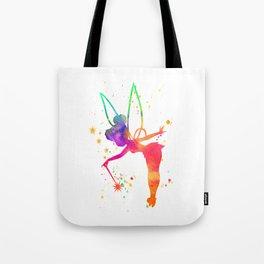 Tink Watercolor Tote Bag