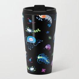 Zooplankton Metal Travel Mug