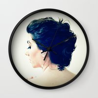 inspiration Wall Clocks featuring Inspiration by Arevik Martirosyan