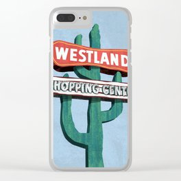 Westland Shopping Center Clear iPhone Case