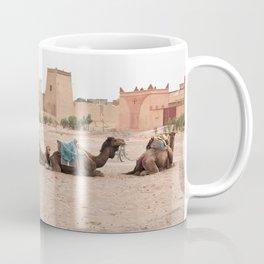 Desert Life III - Sahara Desert, Morocco Coffee Mug