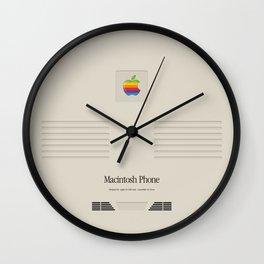 Macintosh iPhone Vintage Edition Wall Clock