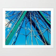 Ferris Wheel II Art Print