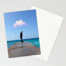 The Man Who Spoke To Birds Stationery Cards