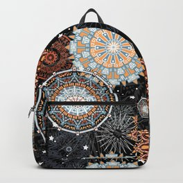 Citrus Mandala Backpack