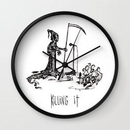 Killing It Wall Clock