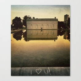 I Heart You Canvas Print