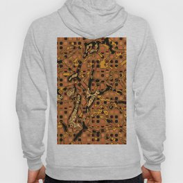 Abstract Pattern Mix 6C Hoody