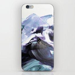 Glacier Mountains iPhone Skin