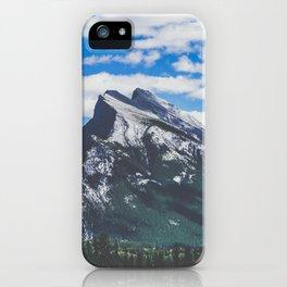 Mt. Rundle in Banff iPhone Case