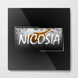 Nicosia Metal Print