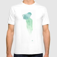 Ghost Mens Fitted Tee White MEDIUM