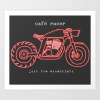 cafe racer Art Print