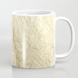 Crinkled Gold Coffee Mug
