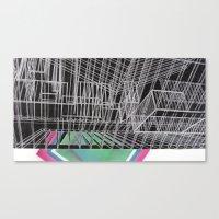 frames Canvas Prints featuring Frames by Aili Schmeltz