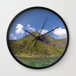 Mount Lidgbird, LHI Wall Clock