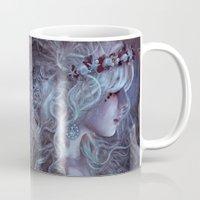 medusa Mugs featuring Medusa by Alexandra V Bach