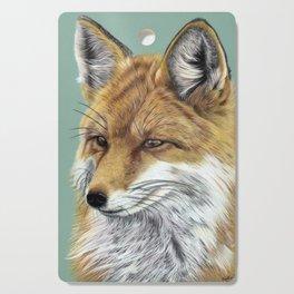 Fox Portrait 01 Cutting Board