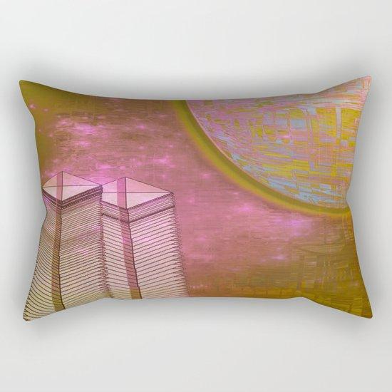 Planetary Moods 1A / 31-08-16 Rectangular Pillow