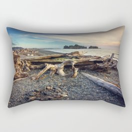 Rialto Beach WA Rectangular Pillow
