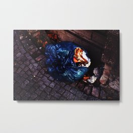 sidewalk still lifes (goldcandy) Metal Print