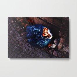 sidewalk still lifes (goldcandy) Metal Print