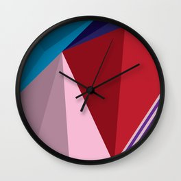 Abstract Modernist Wall Clock