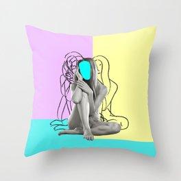 Femme Throw Pillow