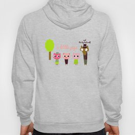 3 Little pigs Hoody