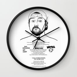 "Bluntman Silent Bob -""  "" Wall Clock"