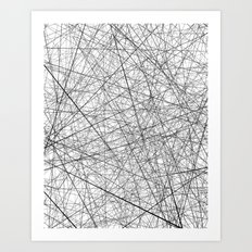 Lineric Art Print