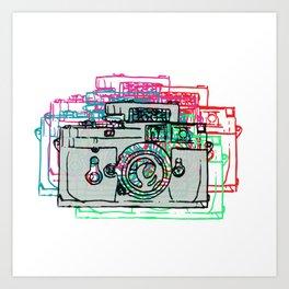 Click Click Boom Art Print