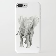 Baby Elephant Watercolor Slim Case iPhone 7 Plus