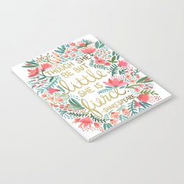 Little & Fierce Notebook