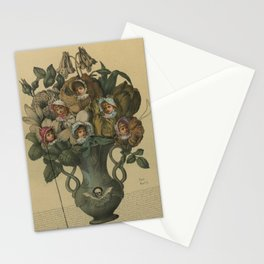 Crooked Bouquet Stationery Cards