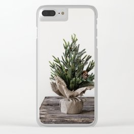 Oh Christmas Tree Clear iPhone Case