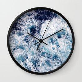 Ocean waves Wall Clock