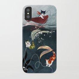 Catfish & Purrmaids iPhone Case