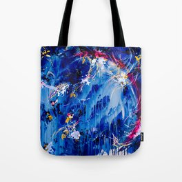As The Universe Falls Together Tote Bag