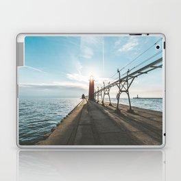 Grand Haven Lighthouse Laptop & iPad Skin