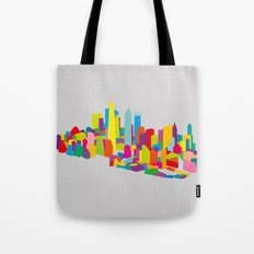 New WTC Isometric Tote Bag