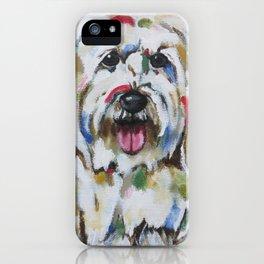 English Sheepdog iPhone Case
