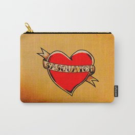 My Heart Belongs to Sasquatch Carry-All Pouch