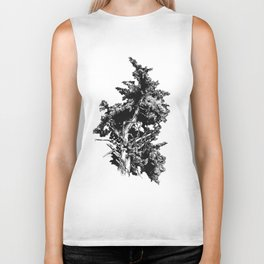 Ink drawing of and old Juniper Tree Biker Tank