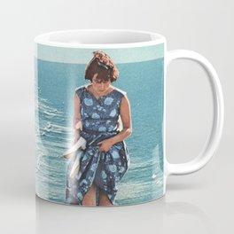 Walk on the Beach Coffee Mug