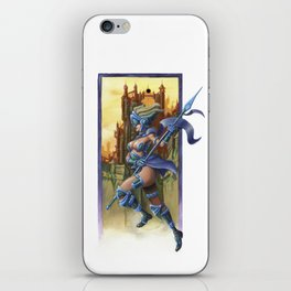 Sky Warrior iPhone Skin