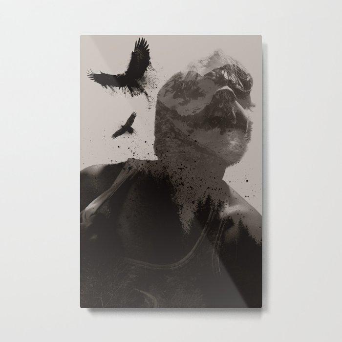 Eagle Boy Metal Print